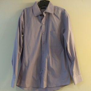 Men's lavender dress shirt by J. Ferrar